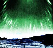Highway Shot – Green Sun  by IntricateKnot