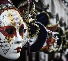 VENETIAN MASKS by Michael Carter