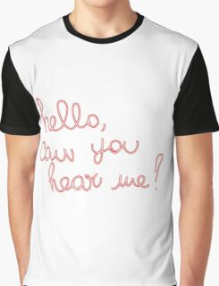 Adele Hello Graphic T-Shirt