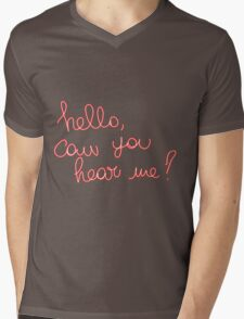 Adele Hello Mens V-Neck T-Shirt