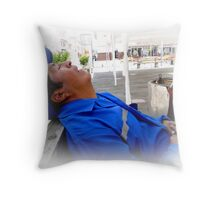 Afternoon Siesta Time Throw Pillow