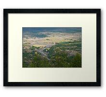 Washington Landscape Framed Print