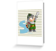 s for soldier Greeting Card