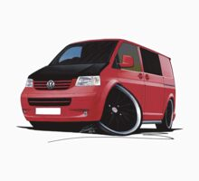 VW T5 (A) Red by Richard Yeomans