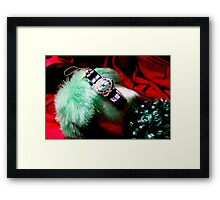 Time For Red And Green Stuff Framed Print