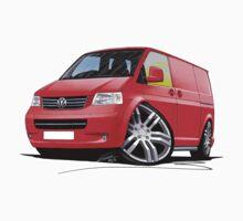 VW T5 Sportline Van Red by Richard Yeomans