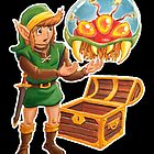 Link finds a Metroid by eliwolff
