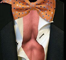 Suit, Open Shirt & Bow Tie by Buckwhite