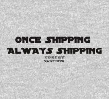 Once shipping, always shipping by Chrome Clothing