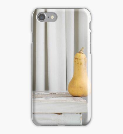 Still Moment with Butternut Pumpkin iPhone Case/Skin