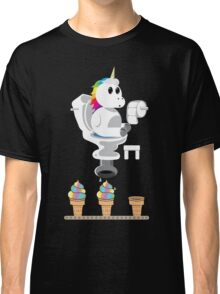 Rainbow Unicorn Ice Cream Classic T-Shirt