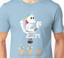 Rainbow Unicorn Ice Cream Unisex T-Shirt