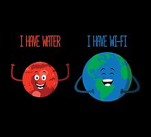 Mars has water by SxedioStudio