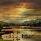 Derwent Water by Irene  Burdell