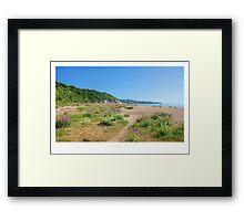 Slapton Sands Framed Print