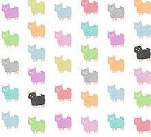 Happy Alpacas by KisaSunrise