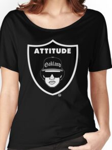 """""""Fans With Attitude"""" Women's Relaxed Fit T-Shirt"""