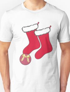 Football Present with stockings Unisex T-Shirt