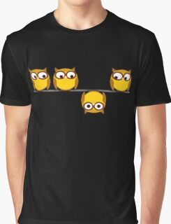 A whole new perspective for the owl Graphic T-Shirt