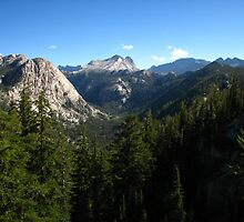 Matterhorn Canyon and Whorl Mountain, Pacific Crest Trail, CA 2012 by J.D. Grubb