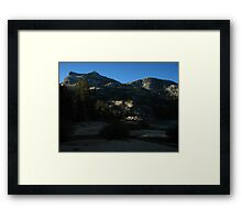 Dawn on Benson Lake's Southern Rim, Pacific Crest Trail, CA 2012 Framed Print