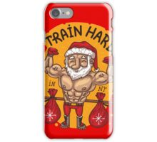 Train hard in NEW YEAR iPhone Case/Skin