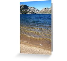 The Benson Riviera 2, Pacific Crest Trail, CA 2012 Greeting Card