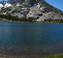 Forsyth Peak and Dorothy Lake, Pacific Crest Trail, CA 2012 by J.D. Grubb