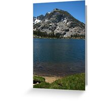 Forsyth Peak and Dorothy Lake, Pacific Crest Trail, CA 2012 Greeting Card