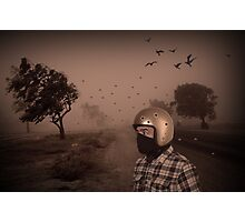 helmet Photographic Print