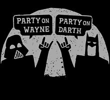 Party on Wayne, Party on Darth by AJ Paglia