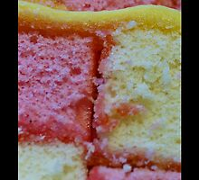 Battenberg cake  iPhone case by Moonlake