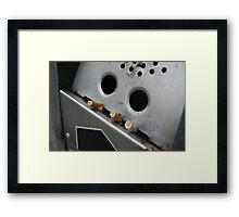 Robots are a drag Framed Print