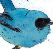 Blue Fairy-wren With Splotches Sticker
