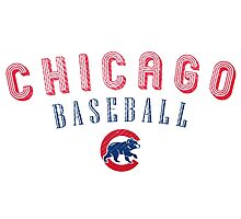 Cubs Chicago Sport Photographic Print
