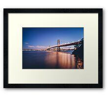 Dream Higher Framed Print
