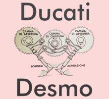 Ducati Desmo Kids Tee