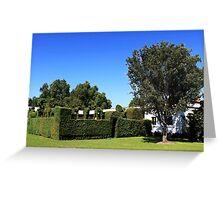 Hedge & House Greeting Card