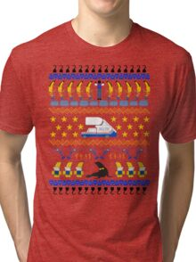 Arrested Development Ugly Sweater Tri-blend T-Shirt