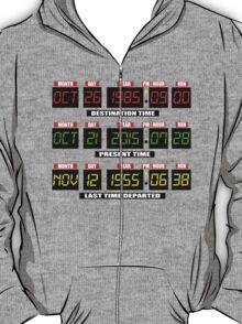 Time Circuits On! T-Shirt