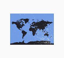 World map blue Classic T-Shirt