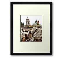 Rider with Sombrero Framed Print