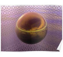 Ring Cube Refraction IIR Poster