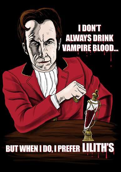 The Most Interesting Vampire in the World by qetza
