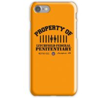 Property of Litchfield iPhone Case/Skin