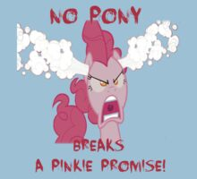 No Pony Breaks A Pinkie Promise Kids Tee