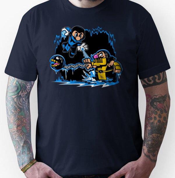 Mario Kombat Unisex T-Shirt