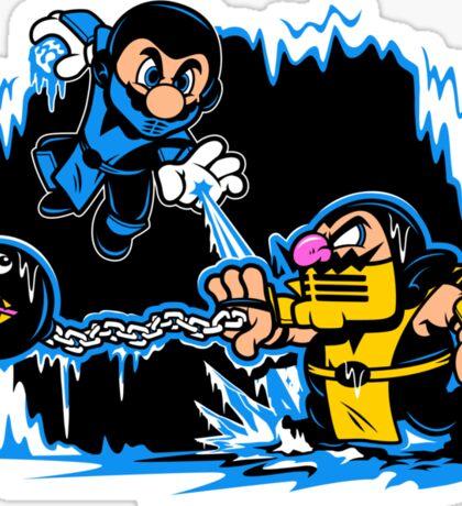Mario Kombat Sticker