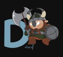 d for dwarf Kids Clothes