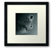 being human 4 Framed Print